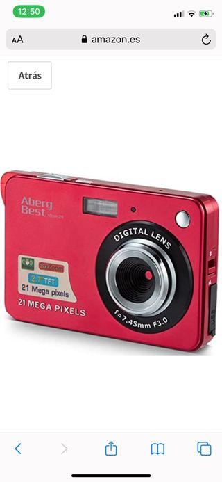 Camara de fotos digital 21megapixeles