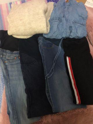 Lote ropa premamá talla 36/38