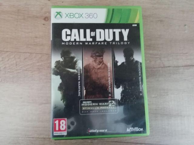 Modern Warfare Trilogía XBOX 360
