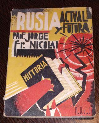LIBRO RUSIA ACTUAL Y FUTURA. PROFESOR JORGE FR.