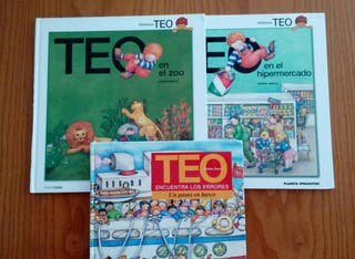 Pack de tres libros infantiles Teo