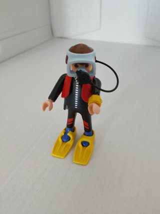 Playmobil superbuceador revista nº12