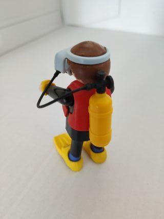 Playmobil superbuceador revista nº12