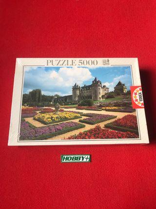 Puzzle 'Castillo de la Roche-cour' 5000 EDUCA