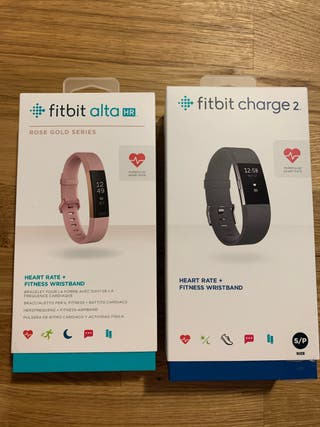 Fitbit Charge 2 + Fitbit Alta HR