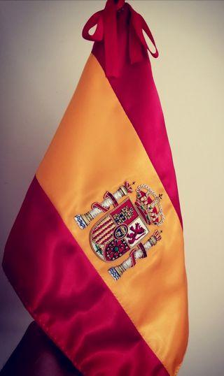Elegante Bandera de España (Despacho, Salon..)