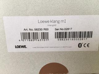 Altavoz portátil marca Loewe