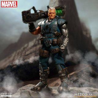 Cable Figura 1/12 Marvel X-Men Mezco