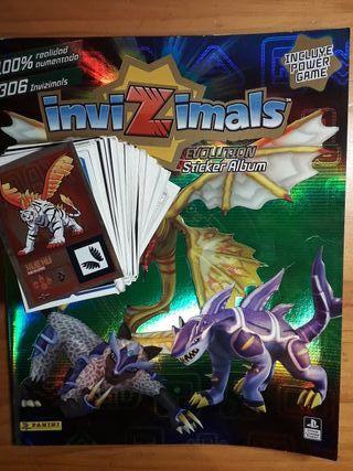 InviZimals EVOLUTION sticker album