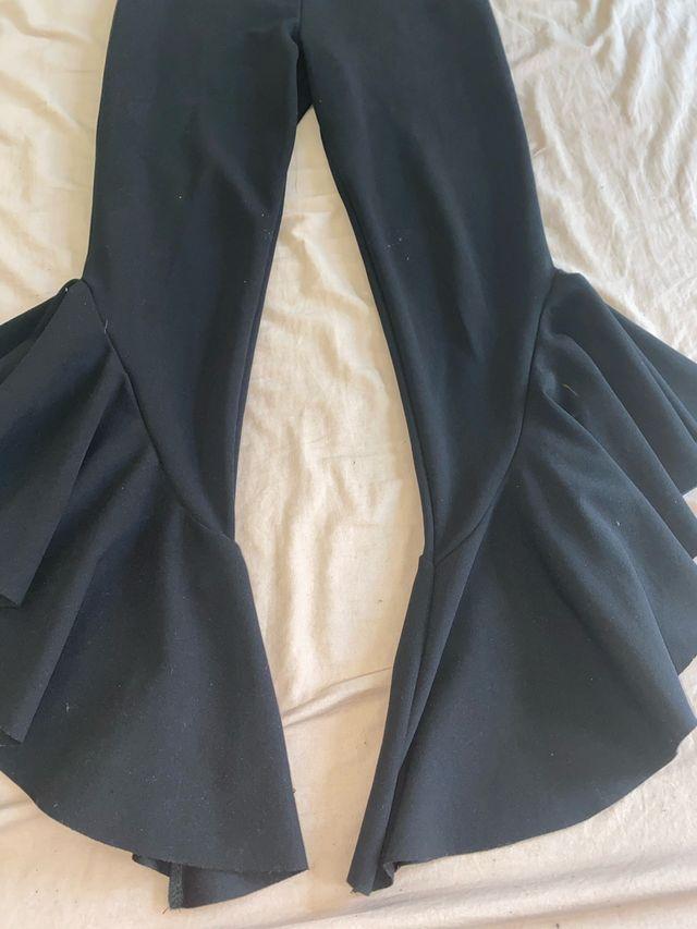 Black Flamenco Trousers