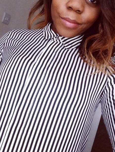 Black stripes shirt