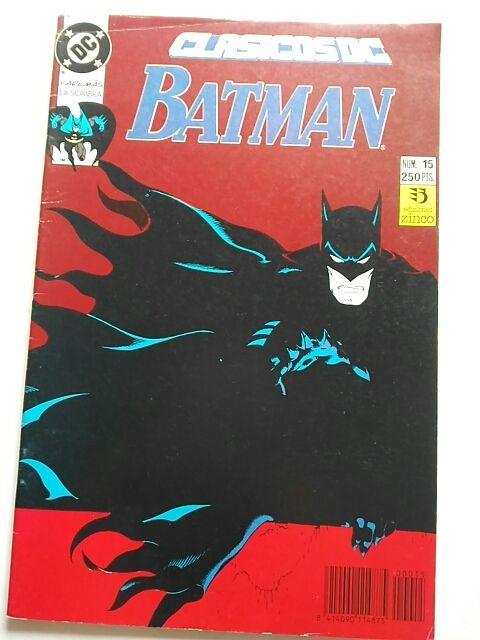 Clásicos DC Batman 15 (Zinco)