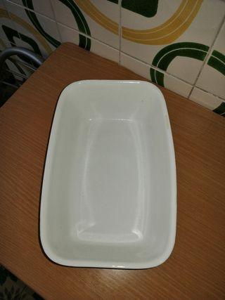 bandeja cerámica para horno