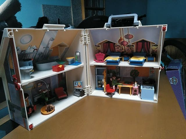 casa Playmobil plegable