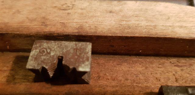 Antigua Derby caja de herramientas