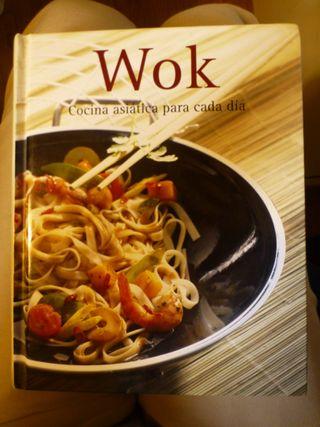 Libro de recetas de cocina asiática