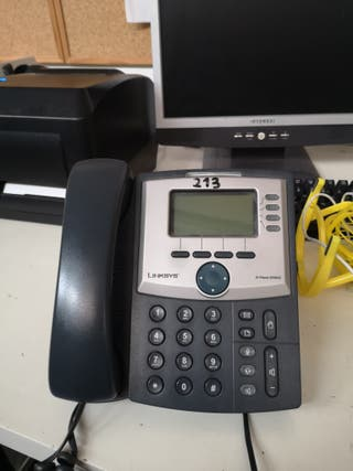 telefono cisco vozip linksys ip phone spa942
