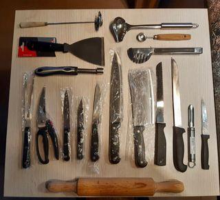 Utensilios de cocina / juego de cuchillos