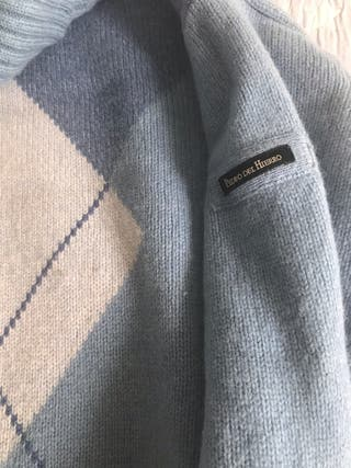 Jersey nuevo punto de cuello alto de firma PDH