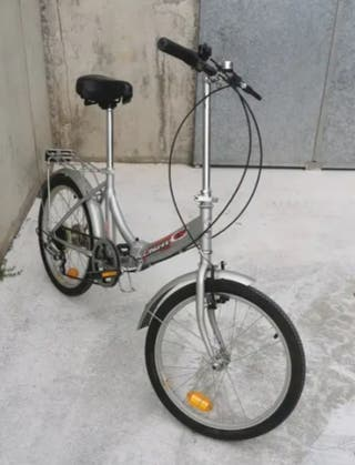 bicicleta plegable, adulto.