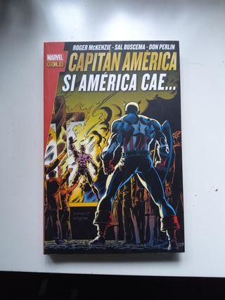 Capitán América Si América cae McKenzie, Buscema,