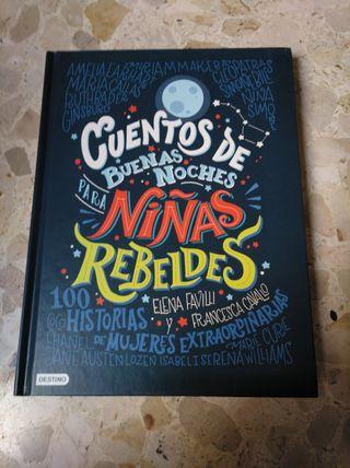 libro cuentos de buenas noches para niñas rebeldes