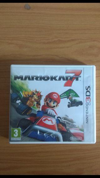 Juego Mario Kart 7