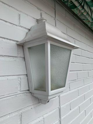 Apliques de pared exterior iluminación 2 unidades