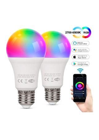Bombillas LED inteligentes 2 unid.