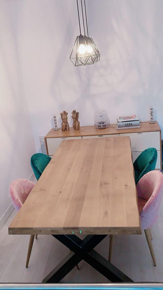 Comedor Nuevo mesa madera con sillas