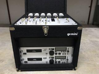 Rack de sonido Gemini, equipo de musica