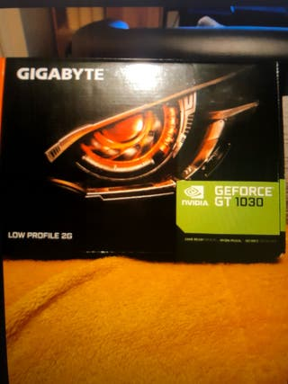 Tarjeta gráfica Gigabyte GeForce GT 1030 2GB GDDR5