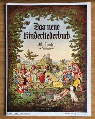 Libro de canciones infantiles para piano - Alemán