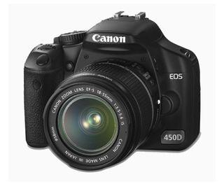 CAMARA CANON EOS 450D