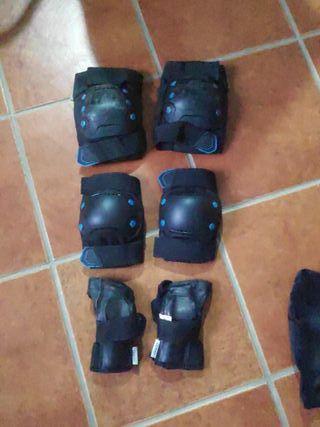 Protecciones patinete, bici, skate