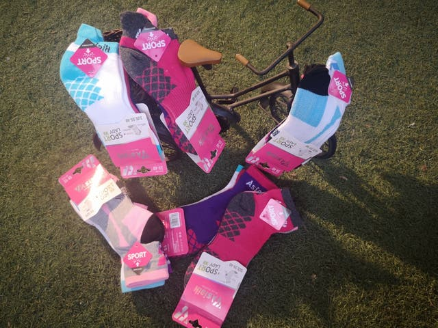 calcetín de deporte mujer pack 3 pares