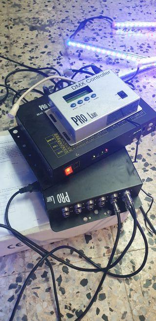 pro licht DMX controller