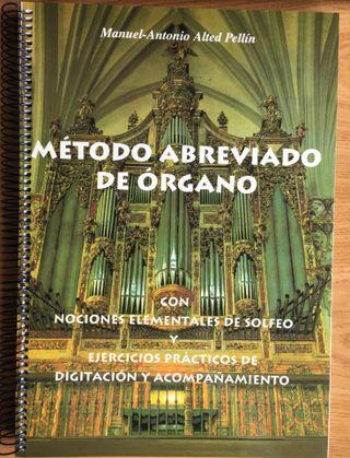 Método abreviado de Órgano NUEVO M.A. Alted Pellín