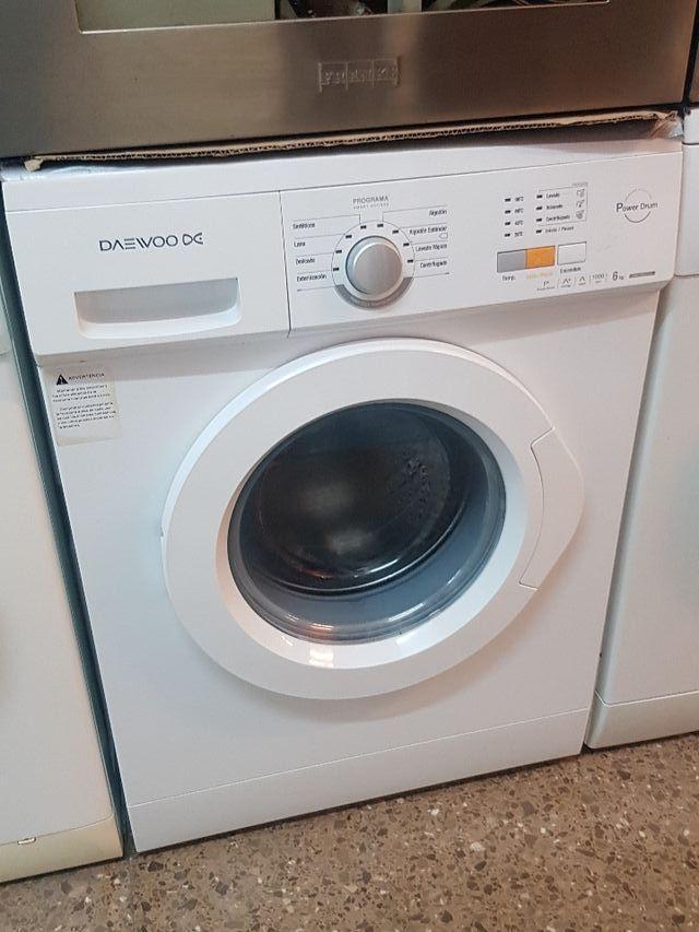 lavadora semi nueva