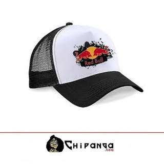 gorra logo red bull