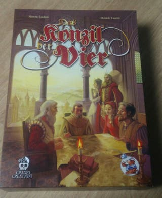 Council of Four. Juego de mesa.