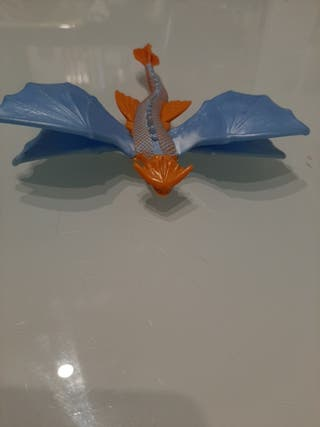 unos dragones metralletas