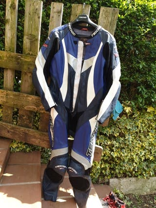 "traje de supermotard-carretera ""cuero"""