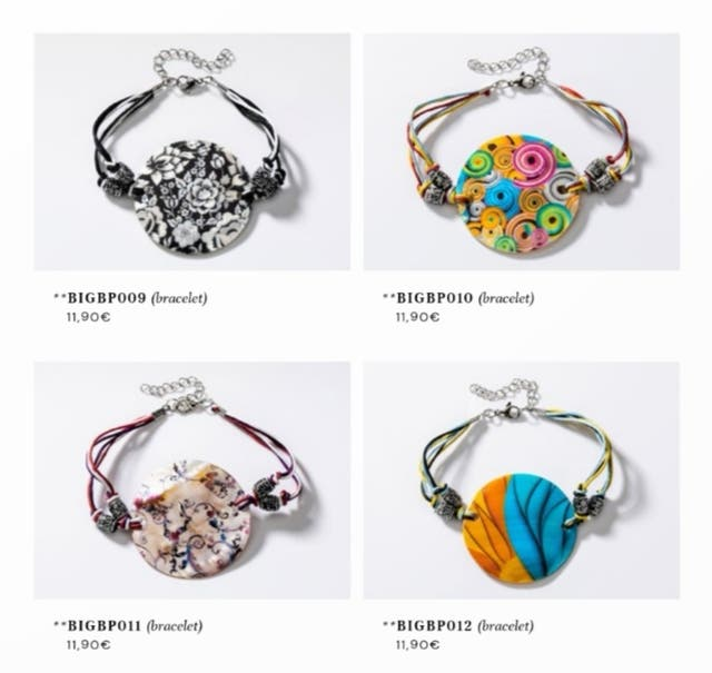 bracelet et parure collier + boucles d'oreilles
