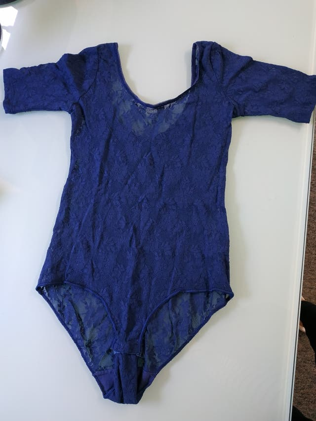 Blue Lace BodySuit