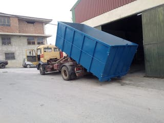 Cubas escombro cajas cisternas