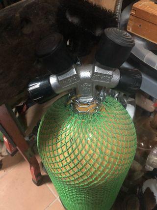 Botella de aire comprimido