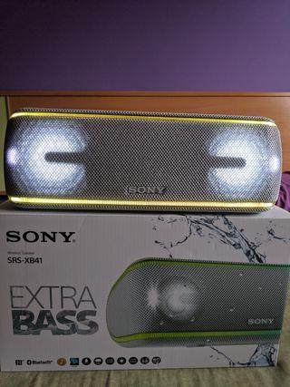 Sony SRS-XB41 A estrenar