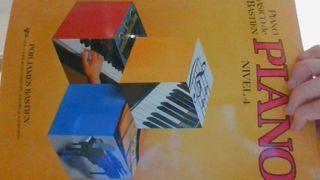 libro de piano bastien nivel 4 nuevo