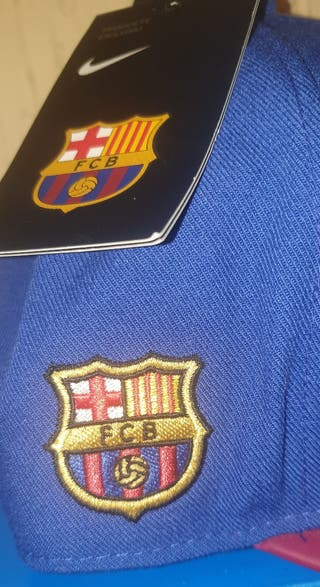 Gorra deportiva oficial fútbol club Barcelona